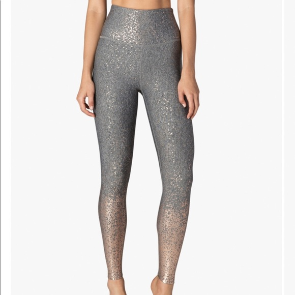 Beyond Yoga Pants - Beyond Yoga Alloy Ombré High Waisted Gray Leggings
